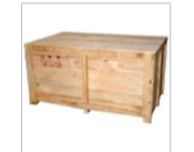 Wooden crate, for stacking and transportation of components
