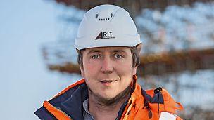 Porträt von Paul Hopperdietzel, Bauleiter bei Arlt GmbH, Frohburg/Frankenhain