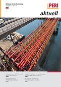 Cover der Ausgabe des Kundenmagazins PERI aktuell Österreich für das Jahr 2014