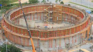Gazowy zbiornik wody chłodzącej (GDC), Putrajaya