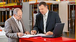 Etroite collaboration et compétence. PERI, votre partenaire fiable sur vos chantiers.