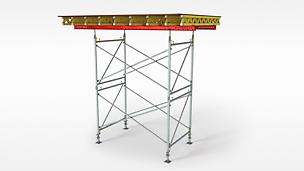 PERI PD 8: ekonomična nosiva skela za oplatne stolove i velika opterećenja.