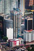 JKG Tower, Jalan Raja Laut, Kuala Lumpur: Kompletní řešení PERI z bednění, lešení a doplňujících služeb zajistilo bezpečnost v jakékoliv výšce a rychlý postup výstavby.