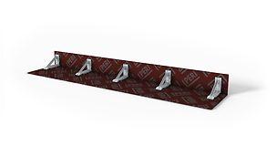 Para cierres frontales de losas y vigas de cuelgue hasta 50 cm