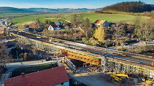Budowa nowej trasy z Wrocławia w kierunku Sudetów, znacznie poprawi transport drogowy do Jeleniej i Kamiennej Góry.