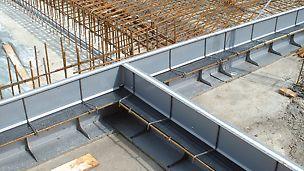 Fugeløsninger stillas reis dekke forskaling domino Trio Quatro søyle panel dekke vegg OSB finer plater forbruk