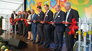Official opening of scaffold production in Günzburg / Bavaria