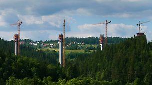 SO244 a SO248 na diaľnici D3 Svrčinovec - Skalité - Úsek diaľnice Svrčinovec - Skalité sa bude pýšiť najvyšším mostom na Slovensku s pilierom vysokým až 76 m.