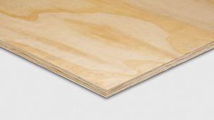 广泛应用的胶合板。