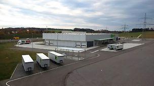 Der neue Produktionsstandort wird das PERI Stammwerk in Weißenhorn ergänzen und die Kapazitäten im Gerüst Segment ausbauen.