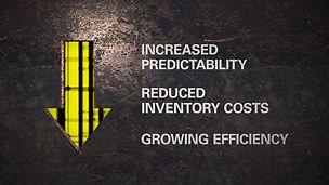 Le programme intégré d'échafaudages PERI est notre proposition de valeur pour votre projet : il vous assure du succès complet de votre projet, en prenant en compte un certain nombre de facteurs allant bien au-delà de la simple fourniture de produits innovants.