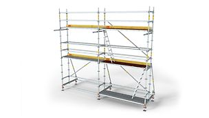 Schelă de lucru PERI UP Flex R75,100: Schelă de lucru modulară pentru eficiență maximă.