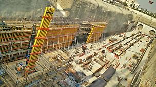 Doha Metro Gold Line Underground Project
