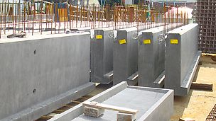 The production of precast concrete elements is very complex and ranges from constructive prefabricated construction through to the manufacture of single components.