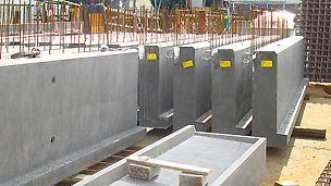 Die Herstellung von Betonfertigteilen ist sehr vielschichtig und reicht vom konstruktiven Fertigteilbau bis hin zur Fertigung von individuellen Einzelstücken.