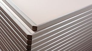 Constant and repeatable quality of the stone products due to permanently high flexural stiffness.