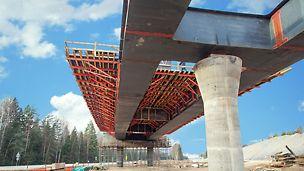 цкад, центральная кольцевая автодорога, опалубка для мостов, опалубка для путепроводов, инфраструктурное строительство, цкад ход строительства