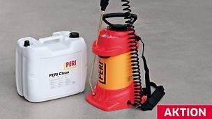 PERI Betontrennmittel auf Mineralölbasis - PERI Betontrennmittel auf Mineralölbasis für handelsübliche Schalungen und Baugeräte