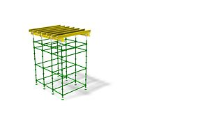 QUICKSTAGE Shoring. Support for all types of decking forms with a max. load capacity of 40kN