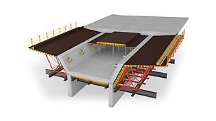 Die schnelle, mietbare Lösung mit bestem Handling und reduzierten Materialmengen