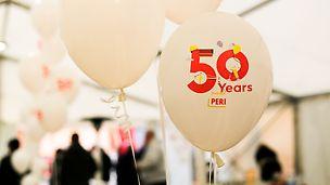 50 Jahre PERI: Das Fundament unseres wirtschaftlichen Erfolges sind unsere unverwechselbare PERI Kultur und unsere PERI Werte.