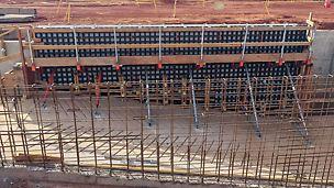 Stavby infrastruktury, region Pilbara, Austrálie
