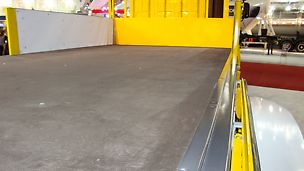 In the transportation industry, plywood panels are used for the floors as well as front and side walls in vehicles.