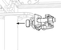 Złącze zakotwienia PERI UP Easy wkłada się w podłużny otwór ramy Easy lub wspornika.