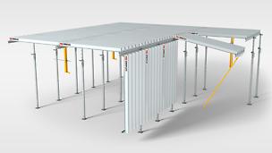 Fleksibilna, ekonomična stropna oplata za najjednostavniju montažu uz maksimalnu radnu sigurnost