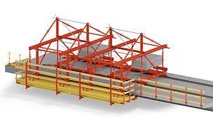 VARIOKIT VGW Gesimskappenwagen - die verfahrbare, ankerlose Lösung für Brücken ab 150 m Länge