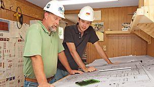 Planung, Lieferung und Steuerung des wirtschaftlichen Materialeinsatzes
