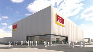 PERI presenteert zich op de bauma 2019 met een nieuwe beurstent. Bezoekers kunnen nu al nieuwsgierig zijn naar PERI innovaties – in een frisse, open sfeer.