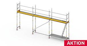 PERI UP Easy 100 - Das leichte und schnelle Fassadengerüst für sicheres Arbeiten