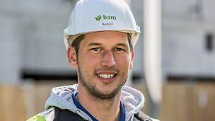 Porträt von Konstantin Rasch, Bauleiter