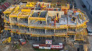 Bytový dom ALBERO - Polyfunkčný komplex, Bosákova II. etapa - Bytový dom ALBERO je situovaný v mestskej časti Bratislava - Petržalka a nadväzuje na mimoriadne úspešný projekt ALBERO I nachádzajúci sa v tesnej blízkosti stavby.