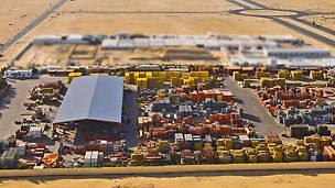 Optimal stock availability  Even major projects can be supplied  easily with our available stock. In case of surplus demand, our exchange shipments from other stockyards ensure your uninterrupted operations.