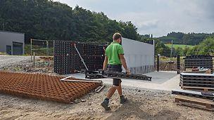 So universal wie der Ortbetonbau selbst: Duo ist für alle Bauwerksarten geeignet.