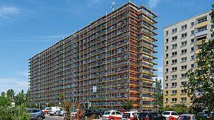 Wohngebäudesanierung Silberhöhe, Halle (Saale)