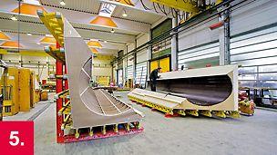 Anfertigung kompletter Schalungselemente abgestimmt auf die Anforderungen des Bauwerks und Ihre individuelle Bauablaufsplanung.