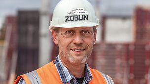 Porträt von Andreas Schnaible, Oberpolier bei Ed. Züblin AG, Stuttgart