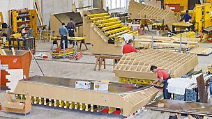 Servizi PERI - Taglio CNC e assemblaggio delle casseforme