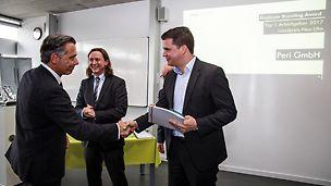 Employer Branding Award 2017 - Übergabe des Preises