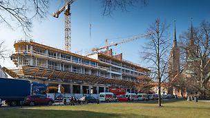 Budowa nowego luksusowego hotelu The Bridge w sąsiedztwie 1000-letniej Katedry św. Jana Chrzciciela we Wrocławiu