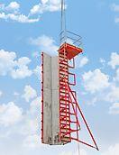 El encofrado para pilares QUATTRO se puede trasladar como unidad completa con estabilizadores y plataforma de hormigonado, en una sola izada de la grúa - como alternativa se puede trasladar a mano usando carro de transporte.