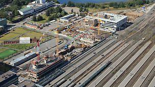 UPM:n toimitalo valmistuu ydinkeskustaan, Töölönlahden rannan maisemiin.