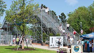 Ein- und mehrläufige gerade Treppen