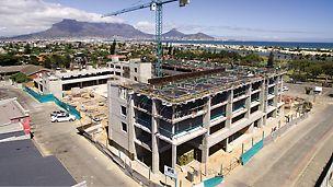 Key West Apartments, Milnerton, Cape Town - total PERI formwork solution for upmarket apartment building