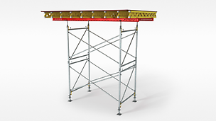 The cost-effective shoring for slab tables and high loads