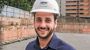 Guilherme Crivari, Direttore del cantiere, Gruppo MPD, Brasile