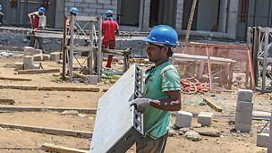 PDPU Hostel, Gujarat, Indien